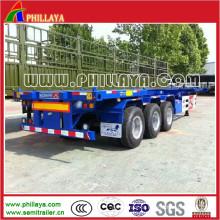 Chassi de caminhão esquelético 40ft recipiente para Semireboque