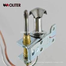 alarm shut-off valve boiler flame sensor gas cooker explosion-proof thermocouple with elbow tube connector