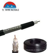 Cable coaxial Rg59 (Cables RG59 / 75ohm) con cable a tierra