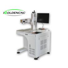 YAG máquina de gravação a laser 3d e máquina a laser de fibra