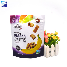 Matte Foil Snack Pouch For Banana Chips