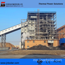 130 T / H Vibrating Grate Palm Shell Fired Boiler