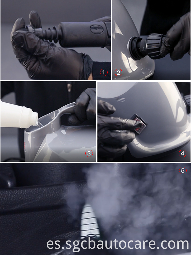 portable steam car washer
