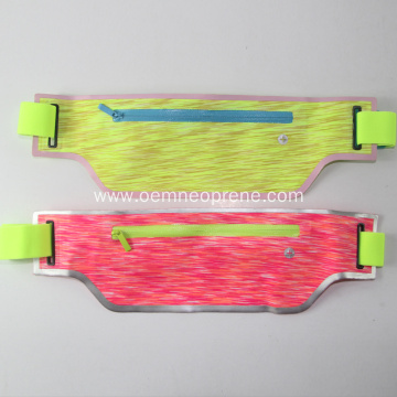 Sports Waist Bag With Adjustable Belt