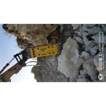 Bagger montiert hydraulische Werkzeuge Korea Qualität leichte Duty Hydraulic Breaker