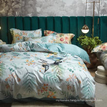 Home Product Fashion Style Bedding Set Cotton Brushed Fabric Comfortable for King Bed Sheet