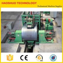 Máquina cortadora y cortadora de chapa de acero Línea de máquina cortadora longitudinal de chapa de acero Línea de corte longitudinal de bobina de acero