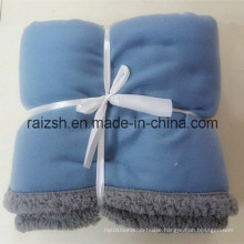2016 Hot Style Soft Thick Warm Coral Fleece Sherpa Banket