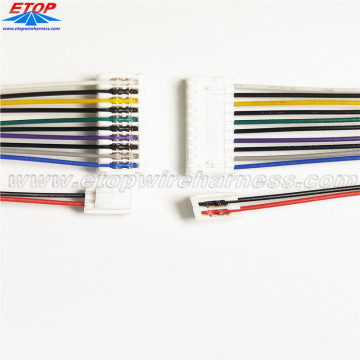 Disesuaikan IDC Connector 12pin Kabel Ribbon Flat Majelis