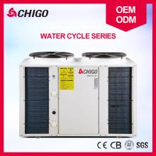Fonte de ar do permutador de calor da associação da piscina da CHIGO para molhar a bomba de calor