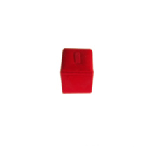 Red PU Jewelry Single Finger Ring Display Holder (RS-R1C)
