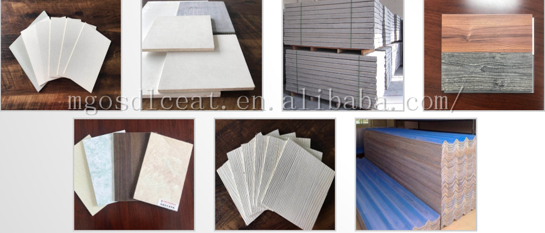 White Fire Rated Mgo Decorative Board