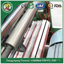 Rebobinadora de rollo de papel de papel de aluminio automático con estilo de grado superior