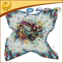 Neuer Twill Silk Square Schal