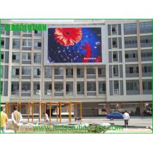 P16mm farbenreicher LED-Bildschirm im Freien
