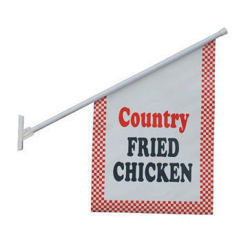Tanda Tangan Promosi Mobil Depan Porch Wall Flags Signs