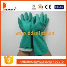 Guante de resistencia química de alto confort para una amplia gama de aplicaciones DHL445