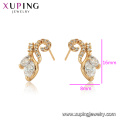 96940 xuping fashion jewelry 18k plated Environmental Copper earrings