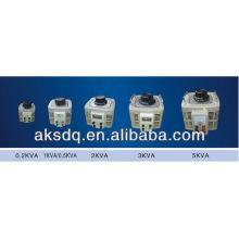 Régulateur de tension monophasé AC Auomatic (0.2KVA ~ 5KVA)