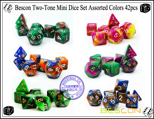 Mini Dice Sets 42pcs-2
