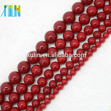 wholesale 3mm 4mm 6mm 8mm10mm natural red shell akoya pearl oyster jewelry beads