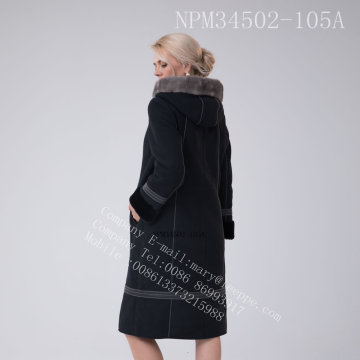 호주 메리노 Shearling Coat for Women