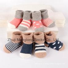 Chaussettes en coton bébé brassard confortable