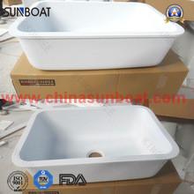 Emaille Kitchen Sink / Einzel Schüssel tiefes Becken