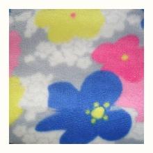 ПОРТАТИВНОЕ одеяло из переработанного флиса с принтом из полиэстера