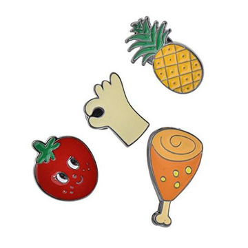 Everyone's Favorite Food Gold Plated Lapel Pins