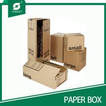 Cajas de cartón onduladas onduladas