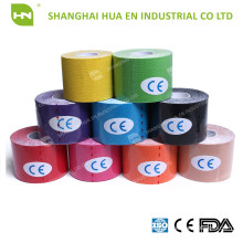 Medical elastic cohesive muscle tape made in China by manufacturer