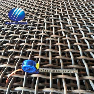 30Mn Steinbruchmasche vibrierende Siebgewebe 65Mn Steindraht Weberei Mesh