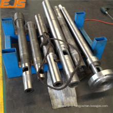 injection mould machine screw barrel with nitrided and bimetallic treatment