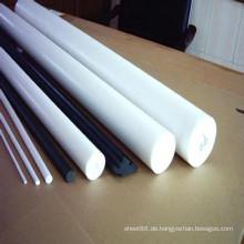 POM Bar / Rod mit weißer, schwarzer Farbe