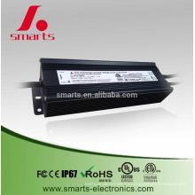 IP67 Водонепроницаемый 100 Вт 24В дали dimmable постоянн Электропитание напряжения тока