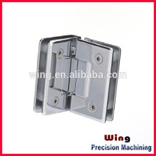 customized die casting glass shelf clamp and panel hinge