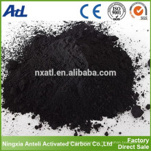 catalizador de carbón activo a partir de carbón activado de bambú