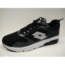 Young Ladies Outdoor Black Air Cushion Jogging Footwear