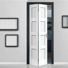 Cheap 12mm PVC Folding Door Sliding Door Accordion Door for interior bathroom