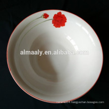 eco-friendly customized printed ceramic bowl