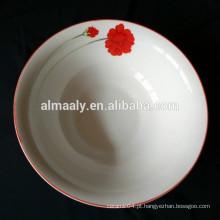 Bacia cerâmica impressa personalizada eco-friendly