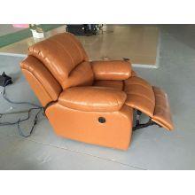 Sofá reclinable de Color marrón para sala de estar (720)