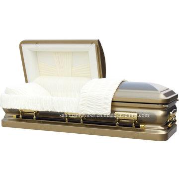 18ga Глоденом кисти стали шкатулка для похорон