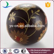Atacado vintage bola cerâmica arte country home decoração