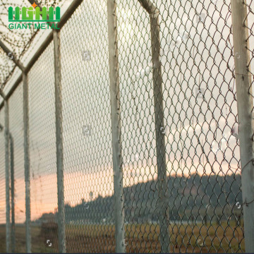 4 'x 8' Galvanized Chain Link Fence Panels