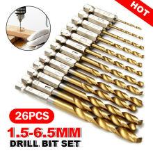 5PCS Drill Bits Set 6mm Metal Cobalt