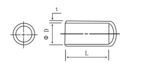 Elastic Sealing Cap Drawing