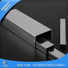 ASTM A554 Vierkantrohr aus rostfreiem Stahl