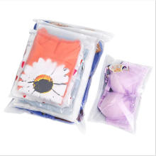 Clear Factory derect  Plastic Packaging Zipper Bags Reclosable For Clothes Underwear